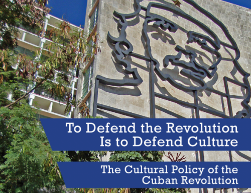 Extract: Culture and Revolutionary Struggle