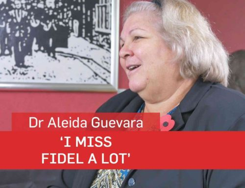 Aleida Guevara: 'I Miss Fidel A Lot'