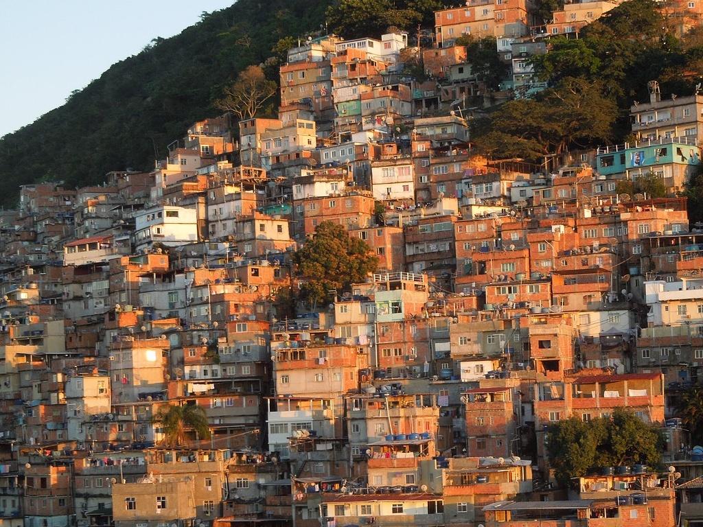 A hillside neighbourhood in Rio de Janeiro, Brazil (image: Anja Schindler)